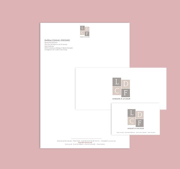 Crea logo, carte de visite, carton correspondance