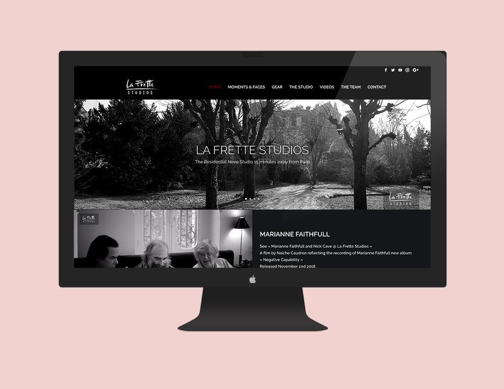Adina Gill - Site web La frette Studios