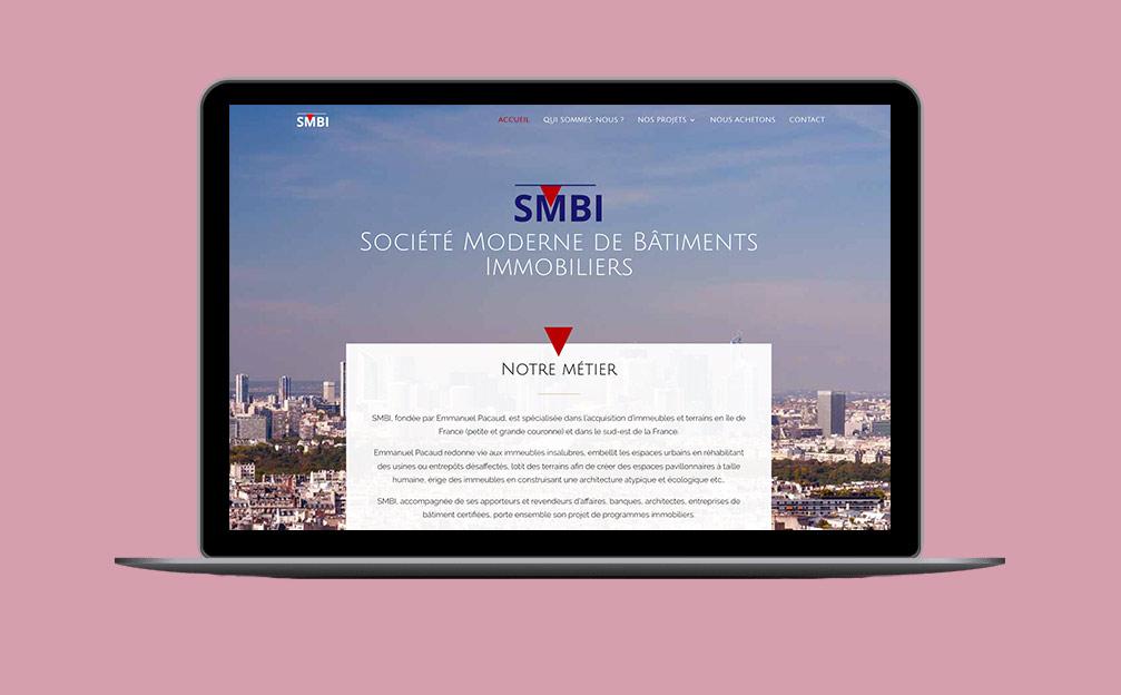 SMBI Webdesign creation site web